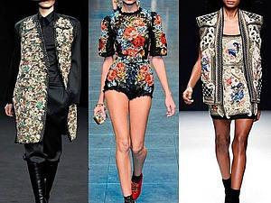 Гобелен в одежде от известных дизайнеров. Ярмарка Мастеров - ручная работа, handmade.