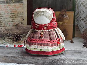 Мастер-класс: куколка-оберег «Девочка с конфеткой». Ярмарка Мастеров - ручная работа, handmade.