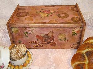 Декорируем старую хлебницу. Ярмарка Мастеров - ручная работа, handmade.