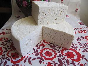 Домашний сыр из козьего молока | Ярмарка Мастеров - ручная работа, handmade