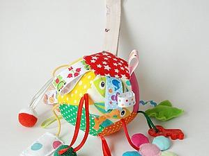 Как сшить развивающий мячик для ребёнка. Ярмарка Мастеров - ручная работа, handmade.
