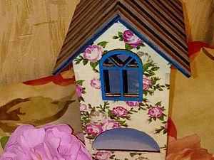 Используем ткань в декупаже вместо салфеток на примере декорирования чайного домика. Ярмарка Мастеров - ручная работа, handmade.