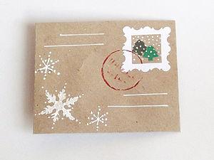 Упаковка - зимняя почта | Ярмарка Мастеров - ручная работа, handmade