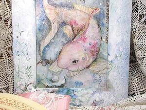 Авторская рамка для картины   Ярмарка Мастеров - ручная работа, handmade