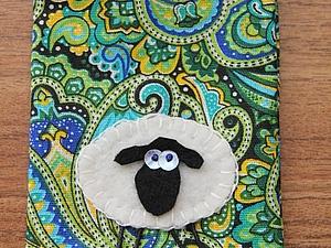 Голубоглазые овечки на цветущем лугу | Ярмарка Мастеров - ручная работа, handmade