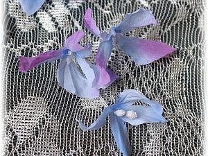 Преображаем покупные тканевые цветы. Ярмарка Мастеров - ручная работа, handmade.