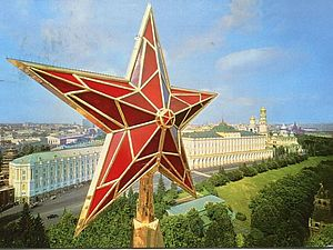 Кремлевские рубиновые звезды. Ярмарка Мастеров - ручная работа, handmade.