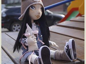 Создание текстильной куклы Лорочки. Часть 3 | Ярмарка Мастеров - ручная работа, handmade