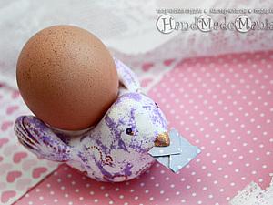 Лепим подставку для яиц к Пасхе! | Ярмарка Мастеров - ручная работа, handmade