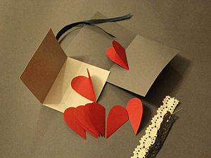Валентинка «Еще больше места для нежных слов». Ярмарка Мастеров - ручная работа, handmade.