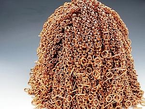Медь и кольчужное плетение: 10 причин идеальной совместимости. Ярмарка Мастеров - ручная работа, handmade.