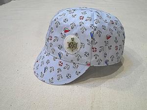 Шьем кепочку для малыша. Ярмарка Мастеров - ручная работа, handmade.