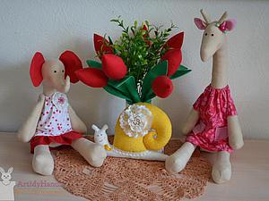 Приглашаем на мастер-класс по игрушке Tilda  Слоник или Жирафик (на выбор ) | Ярмарка Мастеров - ручная работа, handmade