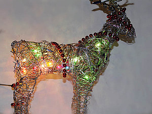 Рождественский олень из подручных средств. | Ярмарка Мастеров - ручная работа, handmade