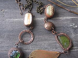 Изготовление ожерелья