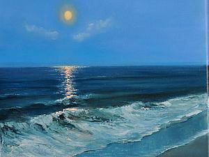 Лунная дорожка. Аукцион. | Ярмарка Мастеров - ручная работа, handmade