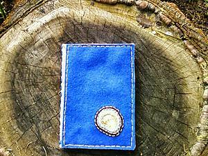 Делаем обложку на паспорт из фетра и льна. Ярмарка Мастеров - ручная работа, handmade.