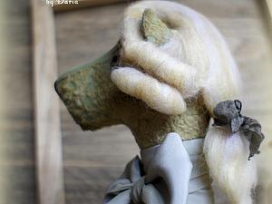 Мастер-класс: делаем съемный парик для медведя тедди. Ярмарка Мастеров - ручная работа, handmade.