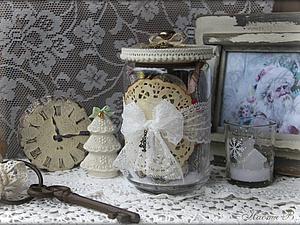 Винтажные елочные украшения | Ярмарка Мастеров - ручная работа, handmade