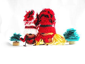 Новогодние сказочные человечки). Ярмарка Мастеров - ручная работа, handmade.