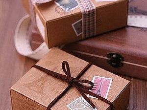 Коробочки для упаковки, handmade