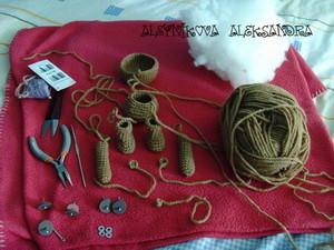 МК шплинтовое крепление деталей игрушки. | Ярмарка Мастеров - ручная работа, handmade