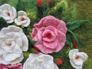 Сумка с цветочным декором. Создаем объем. | Ярмарка Мастеров - ручная работа, handmade
