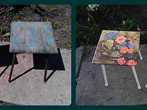 Преображение 2015: стульчики. Ярмарка Мастеров - ручная работа, handmade.