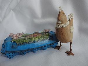 Делаем пасхальную коробочку для яиц. Ярмарка Мастеров - ручная работа, handmade.