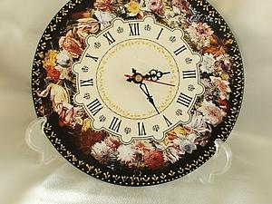 Декупаж: первый курс, 2 занятие (часы МДФ) | Ярмарка Мастеров - ручная работа, handmade