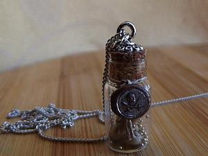 Миниатюра в бутылочке, микро штамп для сургуча. Ярмарка Мастеров - ручная работа, handmade.