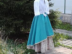 Такие разные льняные юбки. Продолжение. | Ярмарка Мастеров - ручная работа, handmade
