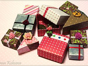 Коробочки!) | Ярмарка Мастеров - ручная работа, handmade