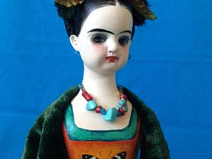 новая куколка ФРИДА -6 . куклы для Фриды | Ярмарка Мастеров - ручная работа, handmade