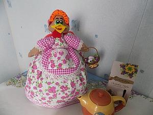 Делаем пасхальную ароматизированную курочку-грелку на чайник. Ярмарка Мастеров - ручная работа, handmade.