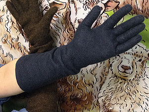 Эластичные длинные перчатки, Москва. | Ярмарка Мастеров - ручная работа, handmade