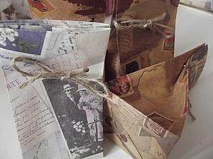 Как быстро сделать крафт-упаковку. Ярмарка Мастеров - ручная работа, handmade.