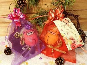 Розыгрыш моей первой новогодней конфетки завершён! | Ярмарка Мастеров - ручная работа, handmade
