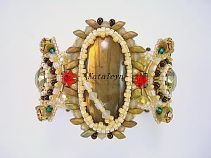 Создаем вышитый бисером браслет «Амазонка». Ярмарка Мастеров - ручная работа, handmade.