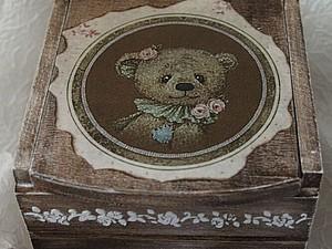 мастер-класс по декорированию мини-комодика | Ярмарка Мастеров - ручная работа, handmade