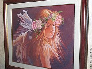 Аукцион 5. Влюбленный ангел. | Ярмарка Мастеров - ручная работа, handmade