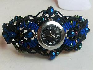 Новая коллекция плетеных аксессуаров. Часы-браслеты.   Ярмарка Мастеров - ручная работа, handmade