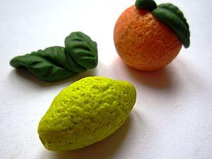 Пластика. Апельсин | Ярмарка Мастеров - ручная работа, handmade
