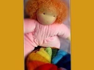 Цвет и дети. Одежда вальдорфских кукол. | Ярмарка Мастеров - ручная работа, handmade
