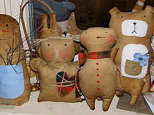 Еще  один веселый снеговик | Ярмарка Мастеров - ручная работа, handmade