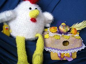 Пасхальное оформление коробок из под яиц | Ярмарка Мастеров - ручная работа, handmade