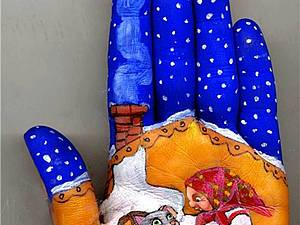 Истории на ладошке от Светланы Колосовой | Ярмарка Мастеров - ручная работа, handmade