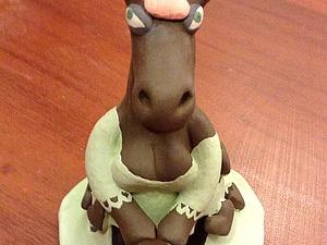 Приходите делать лошадь! Она еще и колокольчик)) | Ярмарка Мастеров - ручная работа, handmade