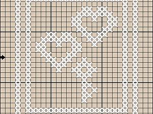 Бесплатная схема - сердечки и ключик | Ярмарка Мастеров - ручная работа, handmade
