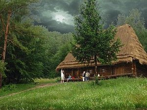 Домик в лесу   Ярмарка Мастеров - ручная работа, handmade